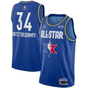 Giannis Antetokounmpo 2020 All-Star Jersey